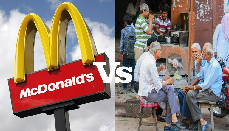 MC DONALS VS LOCAL