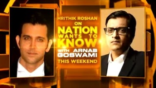 Hrithik Roshan on Nation Wants to Know with Arnab Goswami