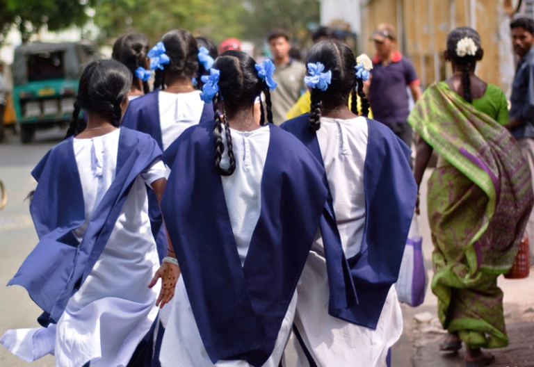 Narasimhan-Indian-Schoolgirls