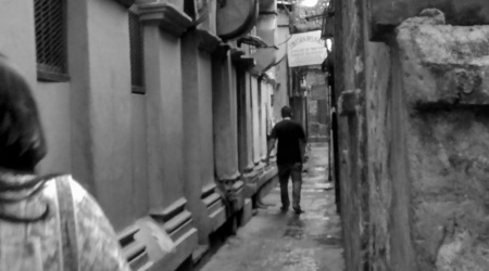 The narrow lanes have a memory