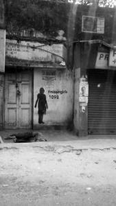 The dark corners of the city's life