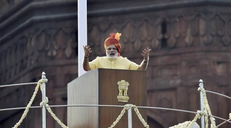 71st Independence Day function at Red Fort