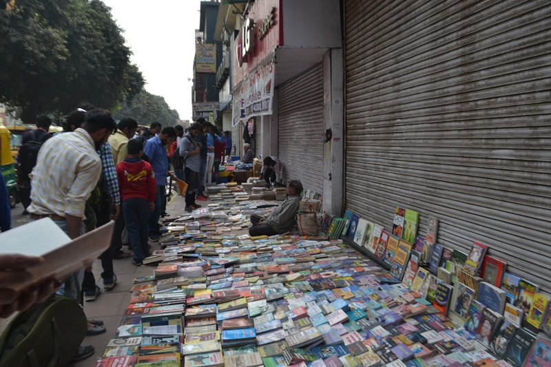 The long footpath stretch is full of books of all kinds. There is a book for all kind of readers in this market from fiction and non-fiction to textbooks, dictionaries and sample papers for competitive examinations. The hustle-bustle, the noise of the nearby traffic, the overcrowded streets and the shouts of the shopkeepers give this place an amazing character of its own. It is neither sophisticated nor polished and perhaps this is what makes it so special and organic. Photography : Kabir