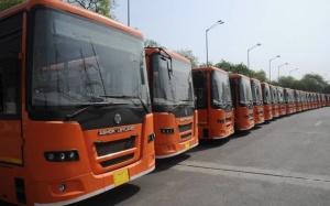 QUALITY TRANSPORT: Buses parked for the cluster model. File Photo: V.V. Krishnan     Photo Credit: V_V_Krishnan