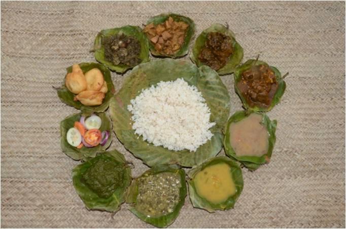 A thali of organic food (1)