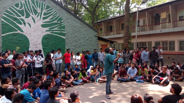 Image courtesy: Progressive Students' Forum, TISS