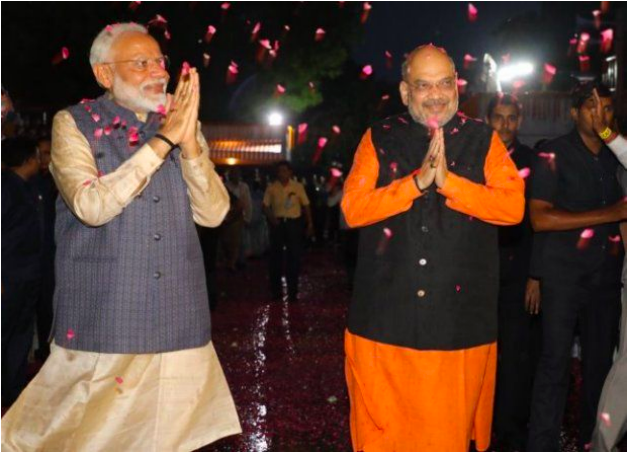 Narendra Modi and Amit Shah / Image Source – BJP/Twitter